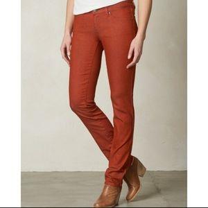 Prana Kara organic cotton corduroy pants jeans 6